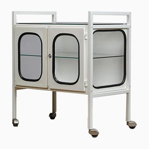 Vintage Iron Medical Trolley, 1970s
