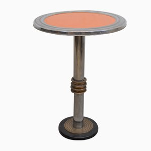 Art Deco Side Table, Italy, 1930s