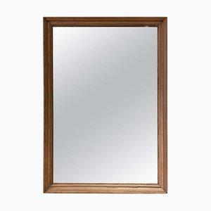 Oak Rectangular Mirror, 1940s
