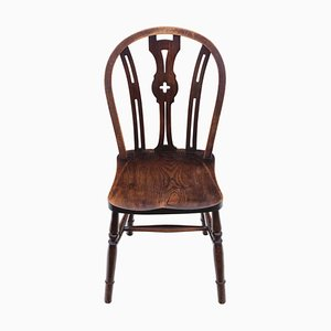 Elm and Beech Kitchen Dining Chair, 1900s