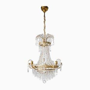 20th Century Swedish Empire Style Ceiling Lamp
