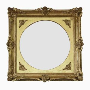 Gilt Overmantle or Wall Mirror, 19th Century