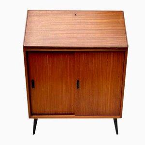 Vintage Bureau Cabinet with Desk
