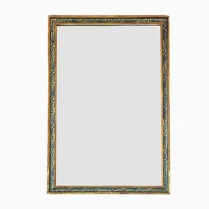Gilt and Decorated Overmantle or Wall Mirror, 1920s