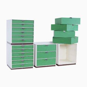 Finnish Storage Cubes by Ristomatti Ratia for Treston Oy, 1970, Set of 27