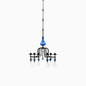 Hanging Candelabra by Erik Höglund for Boda, Sweden