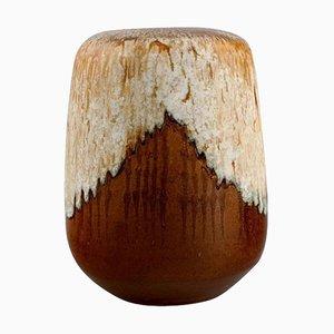 Vase in Glazed Stoneware, Late 20th-Century