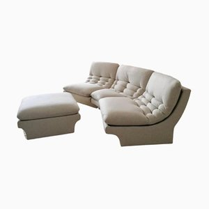 American 3 Section Modular Sofa from Preview Furniture, 1980s