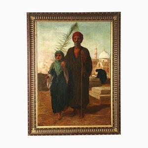 Orientalist Painting, Oil on Canvas