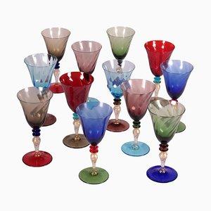 Murano Glasses Service Set