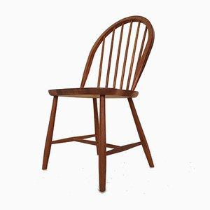 Teak Windsor Dining Chair, Denmark, 1960s