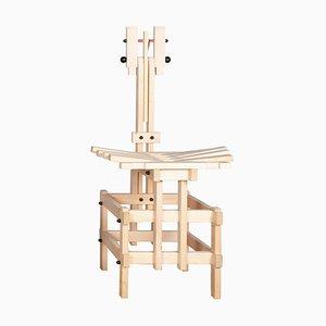 Natural Lego Chair