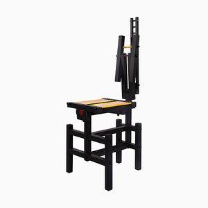 Black Lego Chair