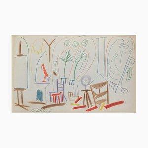 Carnet De Californie 33 by Pablo Picasso