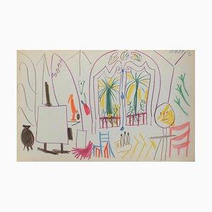 Carnet De Californie 34 by Pablo Picasso