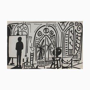Carnet De Californie 09 by Pablo Picasso