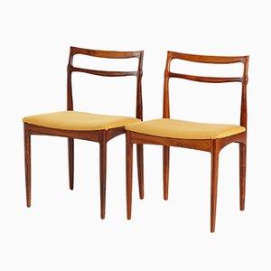 Rosewood Dining Chair by Johannes Andersen for Christian Linneberg Møbelkfabrik