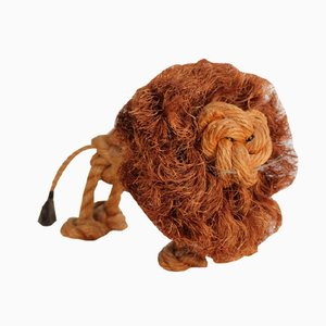 Rope Lion by Jørgen Bloch