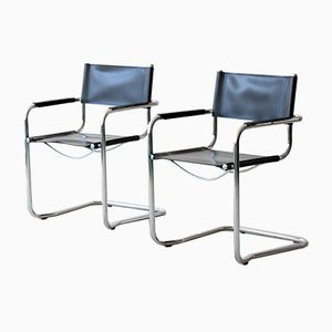 Bauhaus Chairs in the Style of Marcel Breuer's Model B34, Set of 2