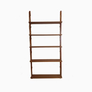 Danish Teak Shelving System in the Style of Poul Cadovius, 1960s, Set of 5