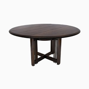 Round Gallery Dining Table from Giorgetti, Italy, 1980s