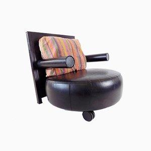 Baisity Leather Chair by Antonio Citterio for B&B Italia