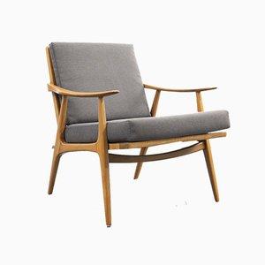 Cherry Wood Chair, 1950s