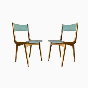 Chairs by Carlo De Carli, Set of 2