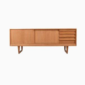 Mid-Century Danish Oak Sideboard by Kurt Østervig for Kp Møbler