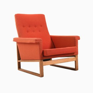 Lounge Chair by Børge Mogensen for Fredericia Furniture, 1950s