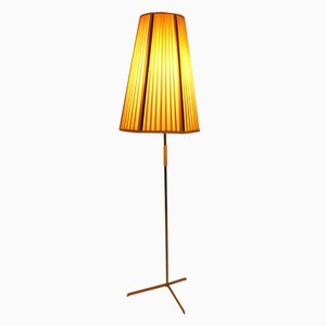 Austrian Brass Floor Lamp, 1950s