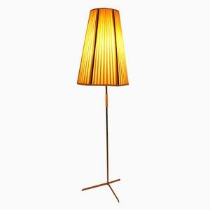 Lámpara de techo austriaca de latón, años 50