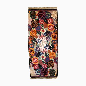 Antique French Art Deco Rug, 1920s