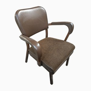 Mid-Century Tanker Armchairs from All Steel Inc., Set of 6