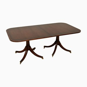 Antique Regency Style Extending Dining Table