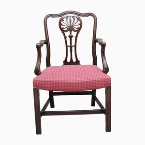 Mahogany Armchairs by Alfred Allen of Birmingham, Set of 10