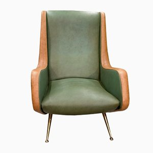 Isa Armchairs by Angelo Morbelli for Isa Bergamo, Set of 2