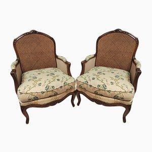 Louis XV Armchairs, Set of 2