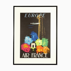 Europe Poster from Air France