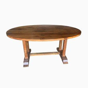 Winemaking Style Walnut Table