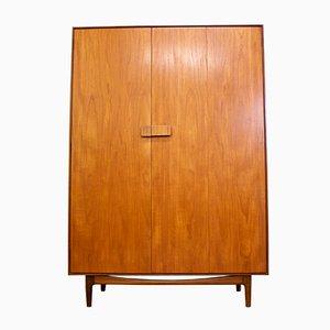 Teak Wardrobe by Ib Kofod Larsen G-Plan, 1960s