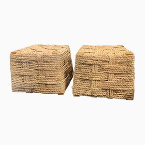 Stools by Adrien Audoux and Frida Minet, 1960s, Set of 2