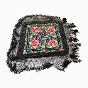 Manila Black Silk Tapestry