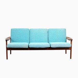 Mid-Century 3-Seater Sofa by Illum Wikkelsø for Niels Eilersen, 1960s