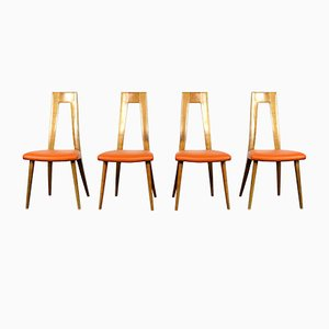 Mid-Century German Dining Chairs by Dettinger, 1950s, Set of 8