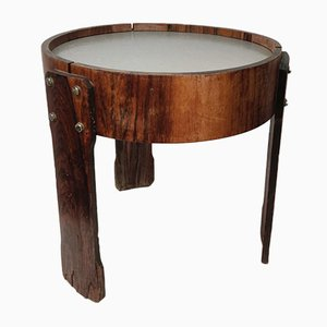 Curved Wooden Coffee Table by Jorge Zalszupin, 1970s