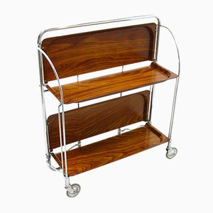 Vintage Serving Trolley or Bar Cart from Bremshey & Co., 1970s