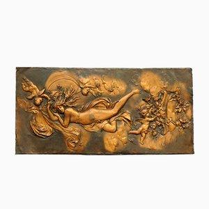 Aphrodite Copper Relief