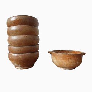Bowls in Sandstone, Set of 6