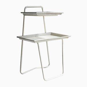 2-Tier Side Table by Mathieu Matégot for Atelier Matégot